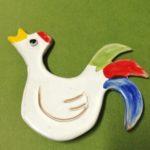 Calamita a forma di gallo