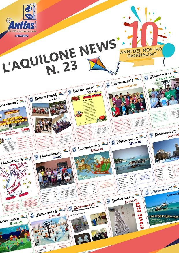 Copertina L'Aquilone News 23