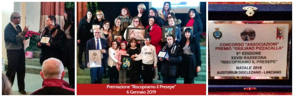 Premiazione delle associazioni