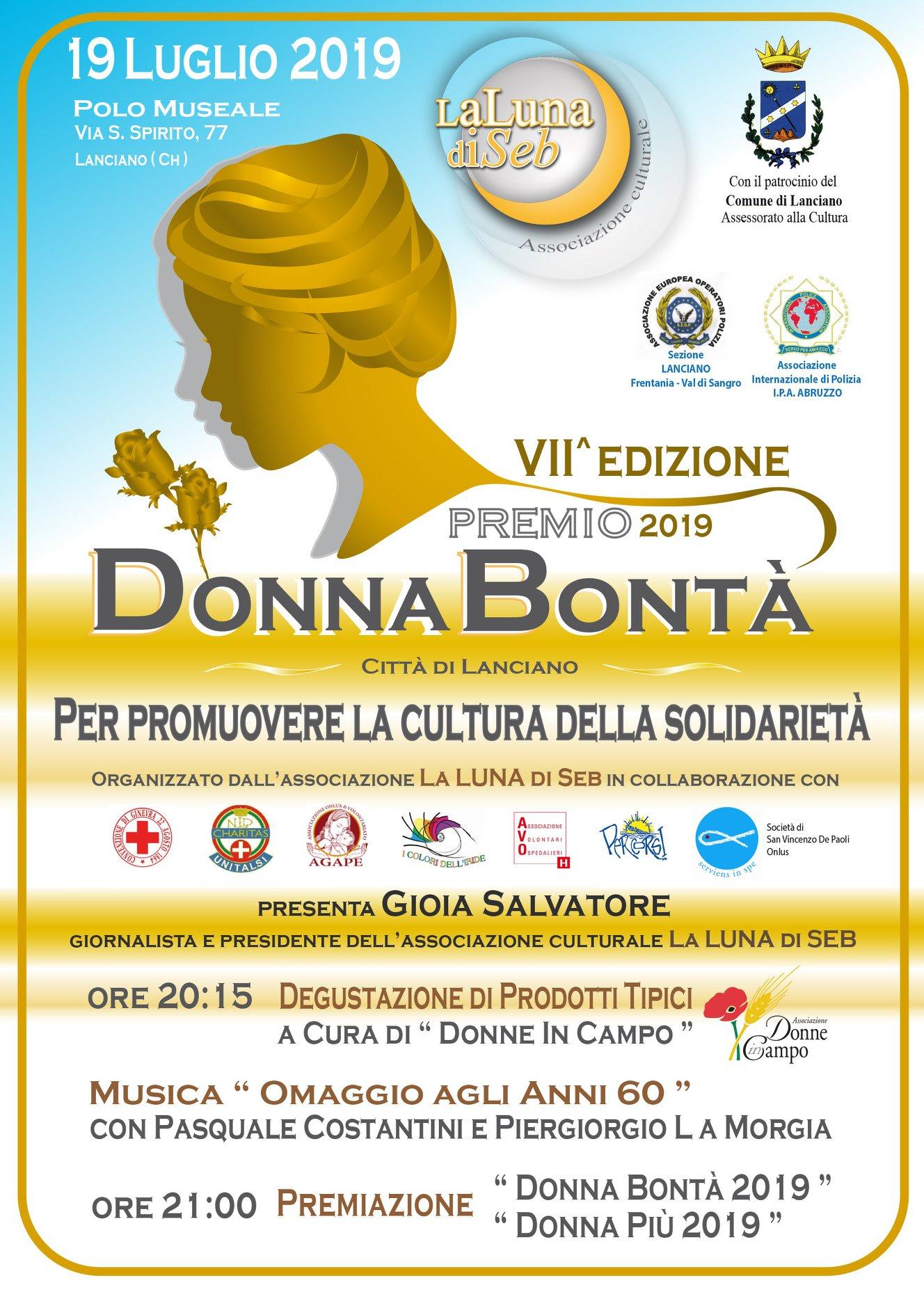 Locandina Donna Bontà