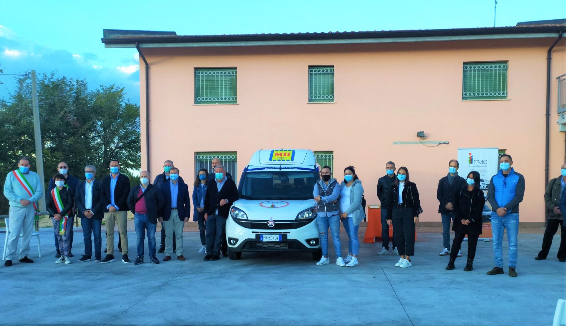 PMG Italia e Anffas - Gruppo