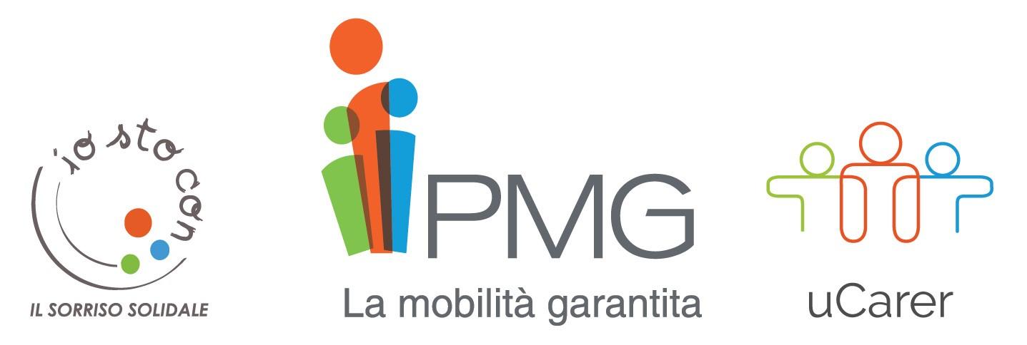 Loghi PMG Italia e mobilità sostenibile